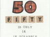 Scrabble 50