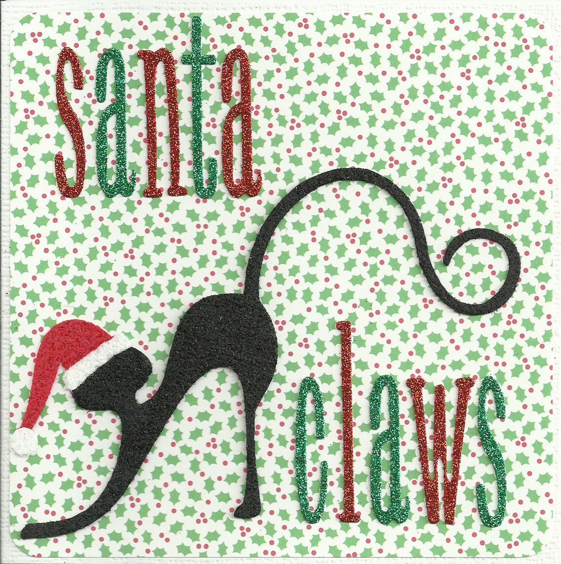 Santa Claws holly