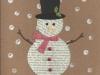 Bookpage snowman