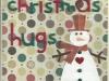 Snowman hugs 1