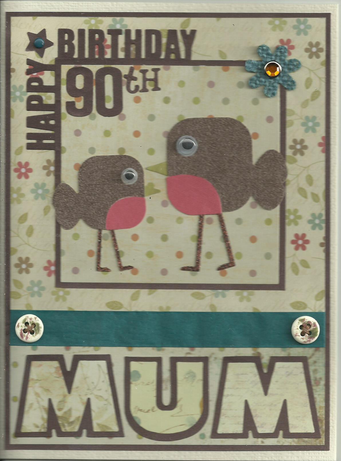 90th Birthday Robins