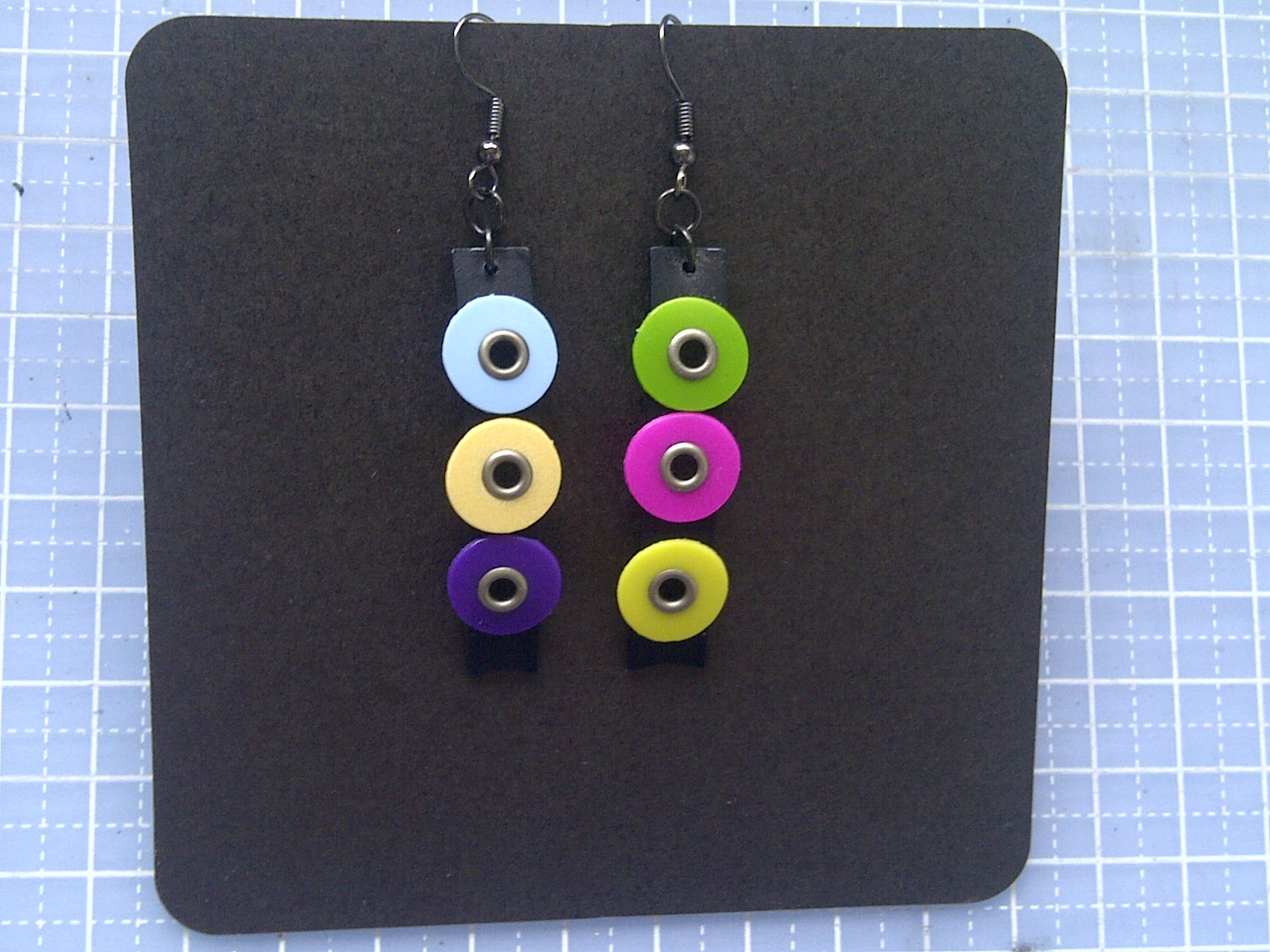 Random plastic earrings 2