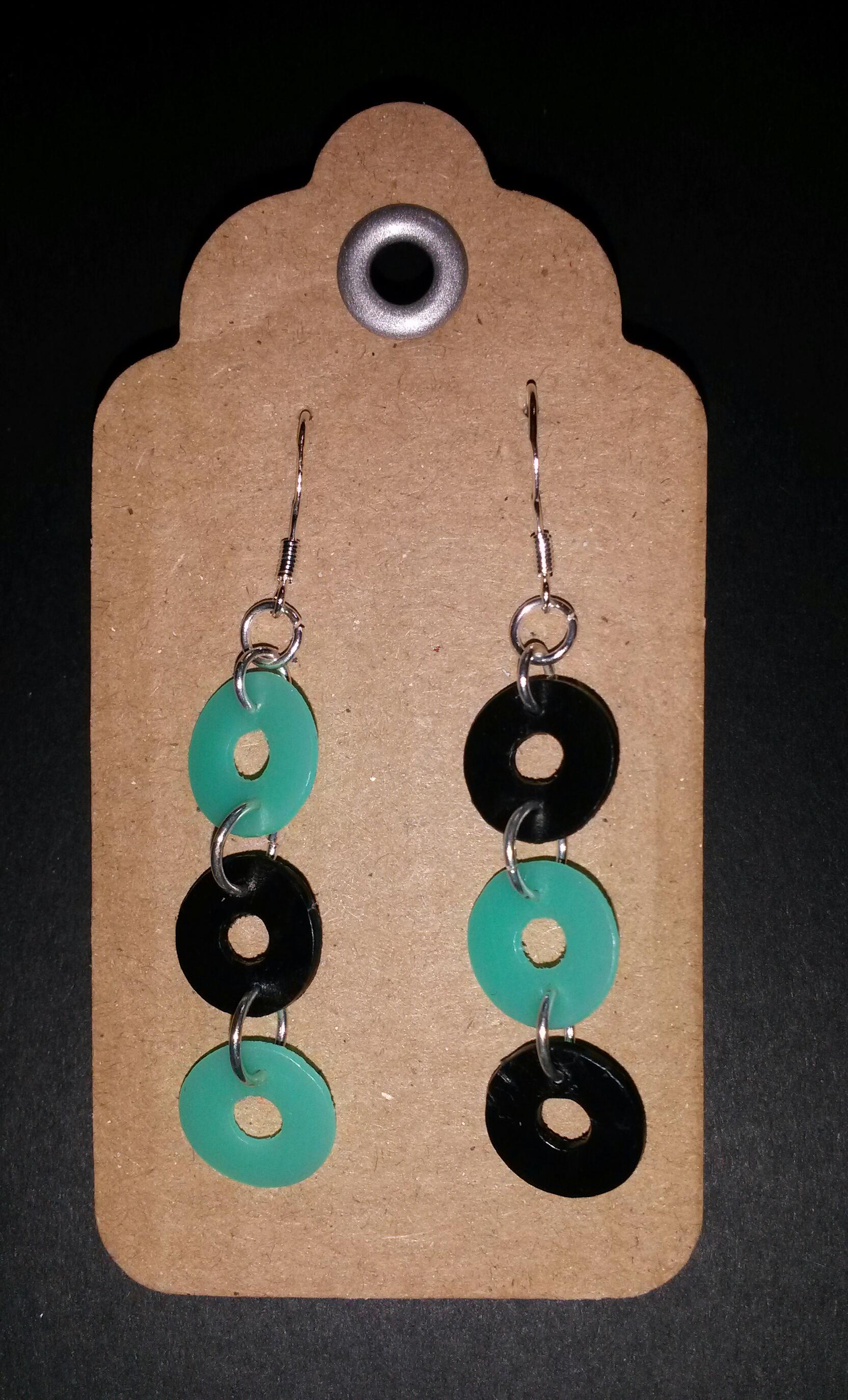 recycled plastic earrings 5