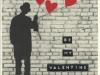 Valentine Umbrella Man 1