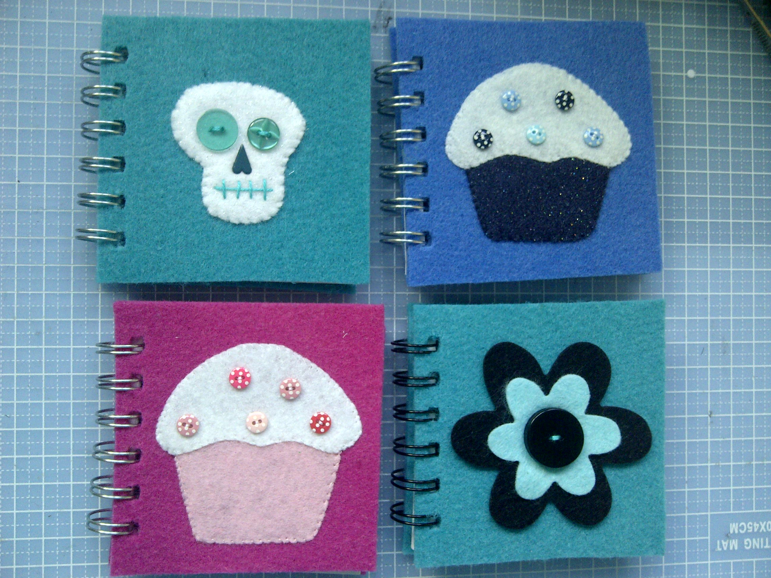 Felt notebooks 2
