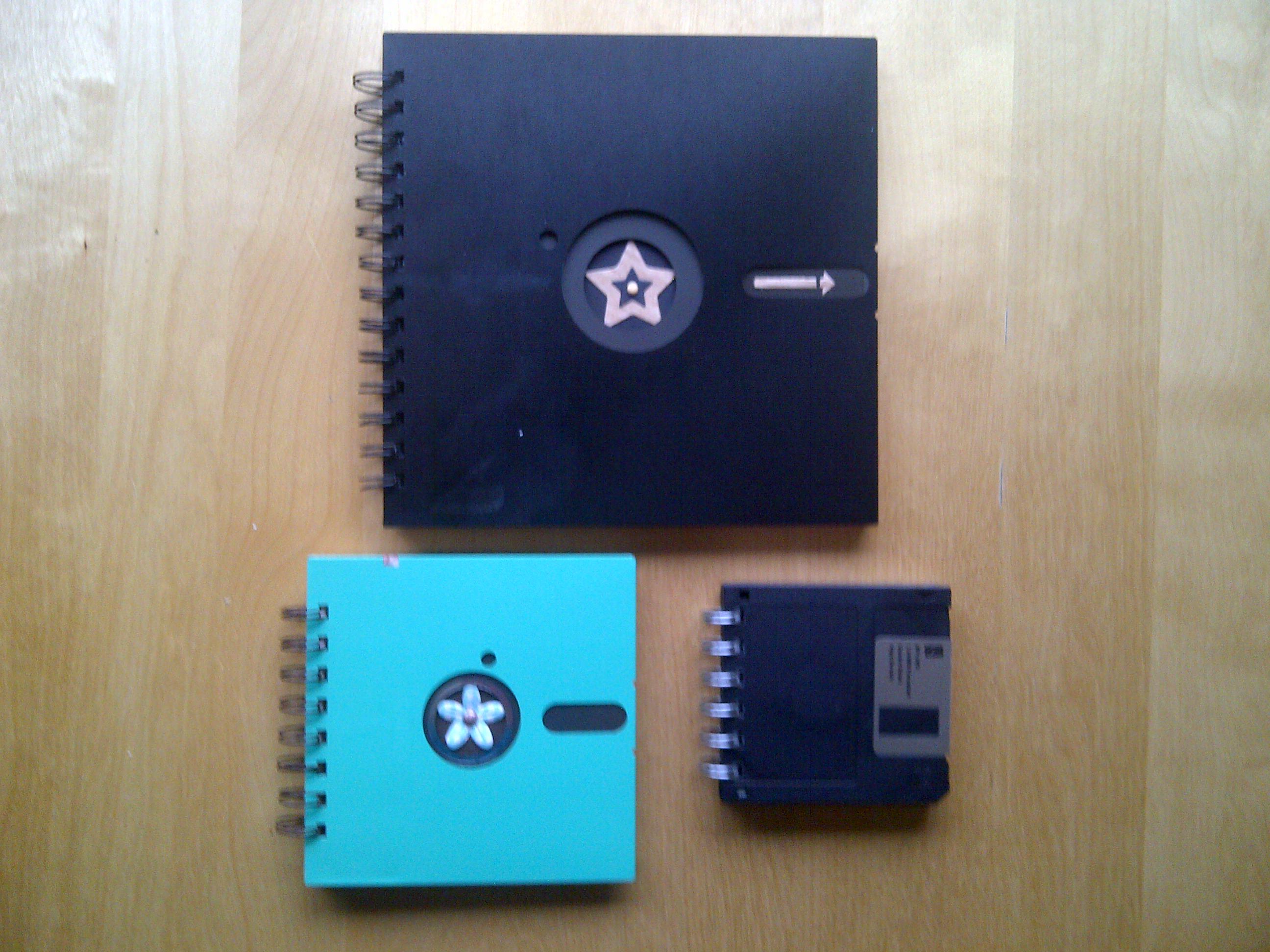 Floppy disk notebook family 2