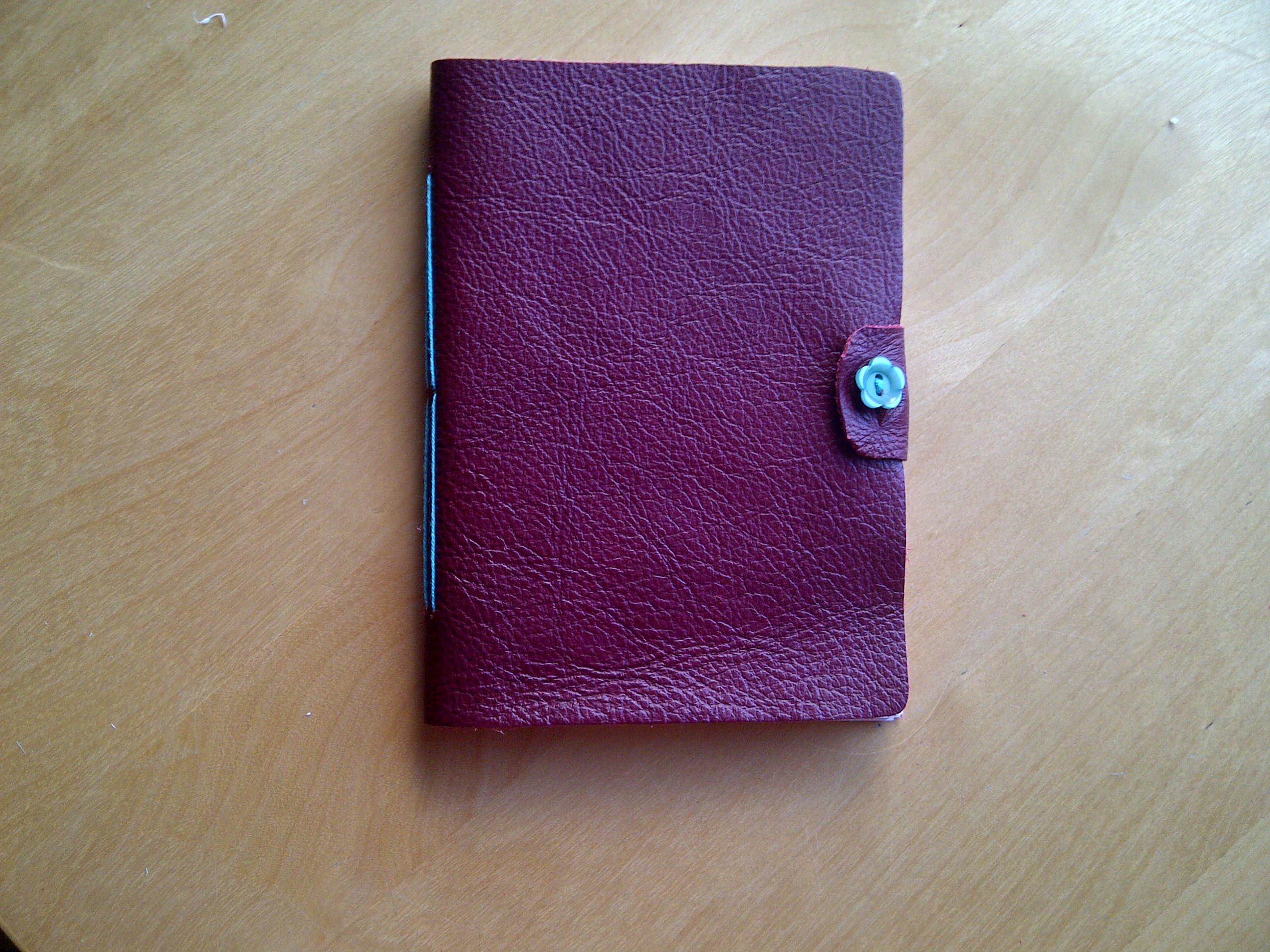 Leather Long-Stitch journal