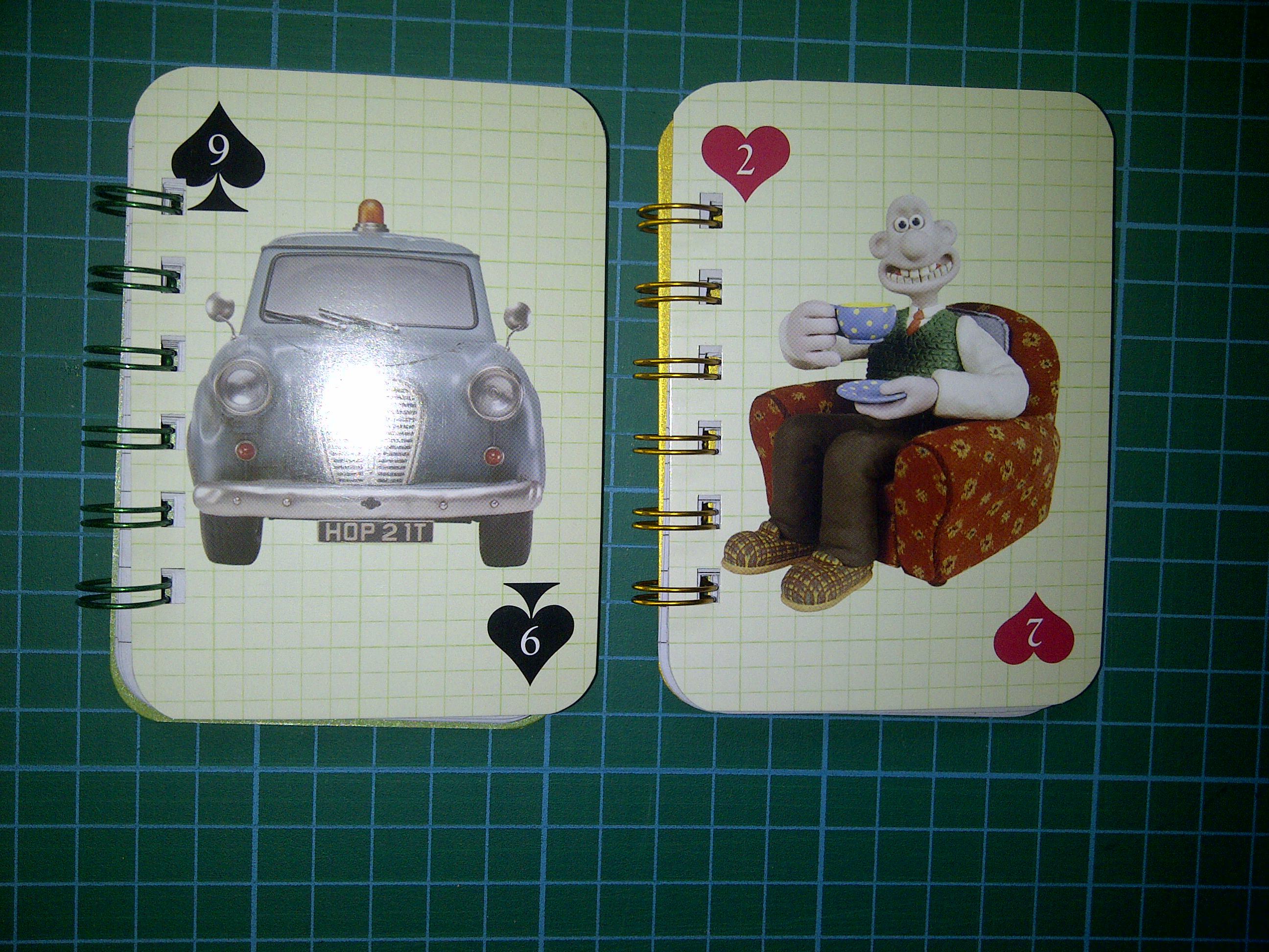 Wallace & Gromit mini notebooks 2