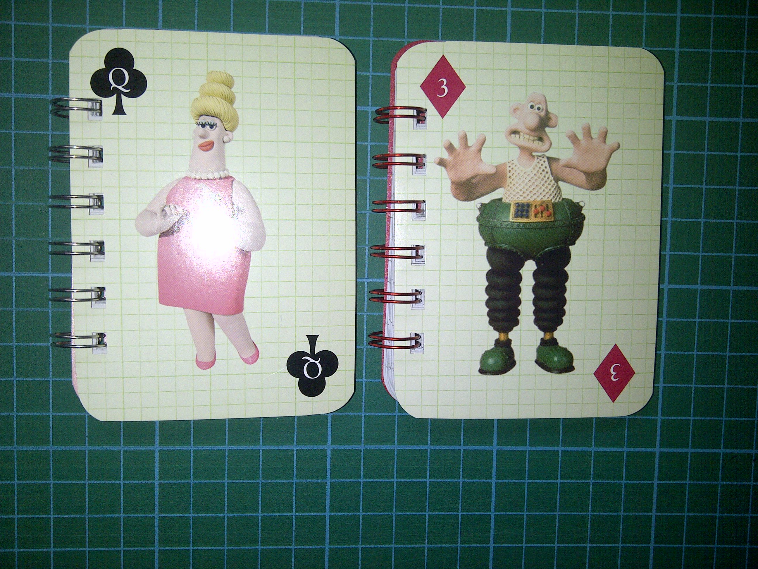 Wallace & Gromit mini notebooks 3