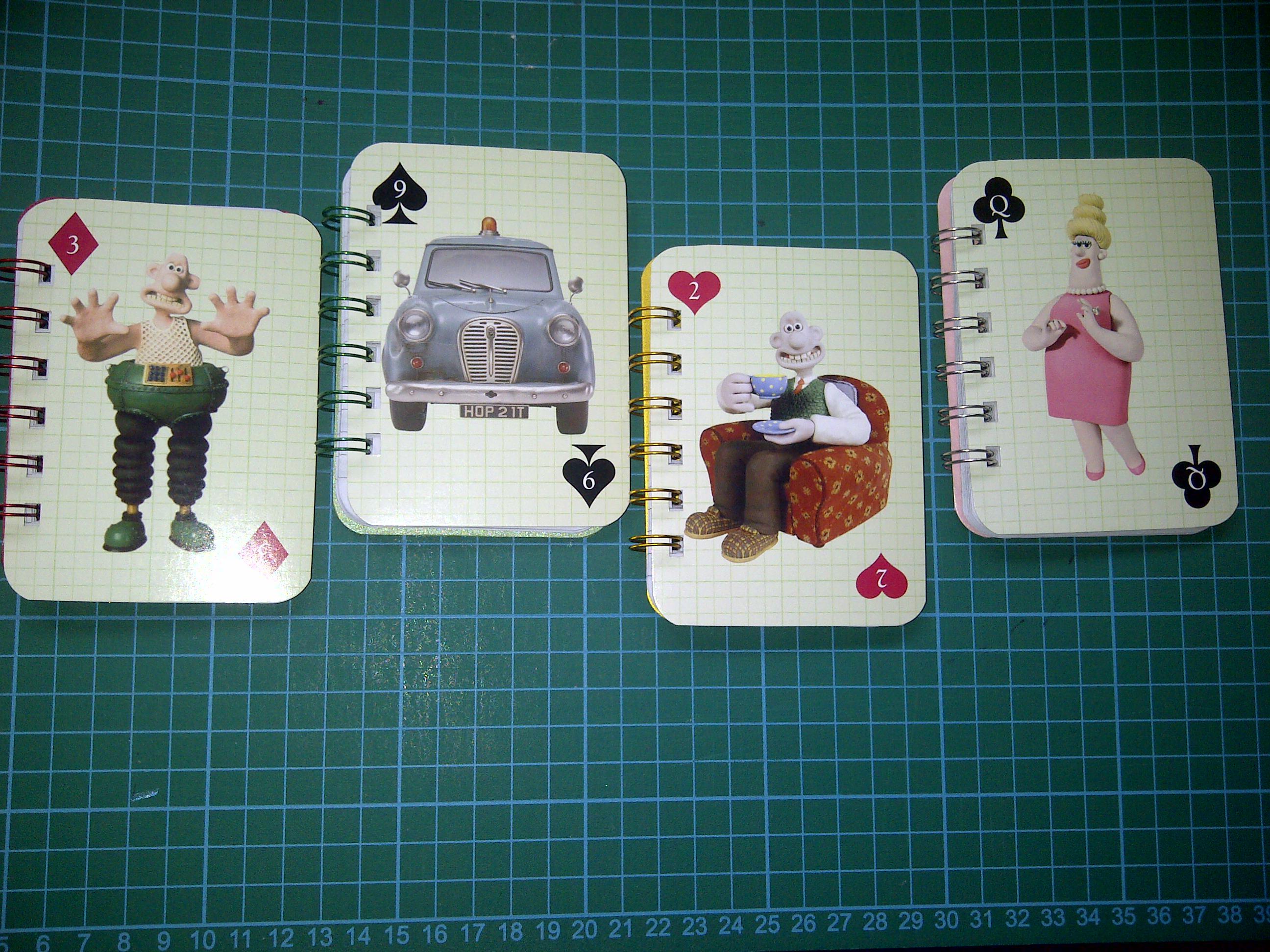Wallace & gromit mini notebooks 1