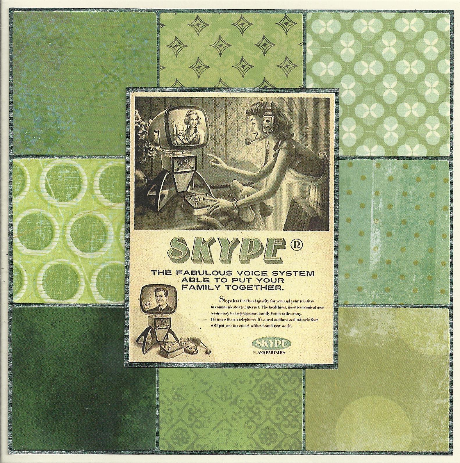 Skype patchwork