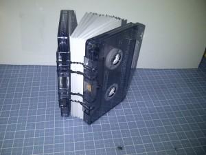 Coptic-bound cassette book