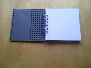 Lego Notebook 1 open