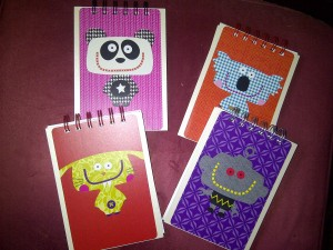 Krazy Kreature notebooks