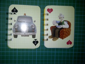 Wallace & Gromit mini notebooks 2
