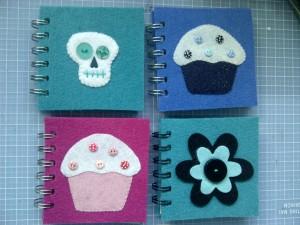 Felt notebooks 2
