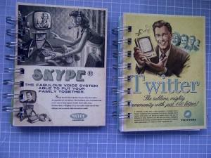 Social media notebooks 2