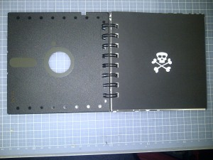 5 inch floopy book inside