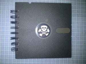 5 inch floppy book front