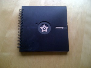 8 inch floppy notebook 1 front