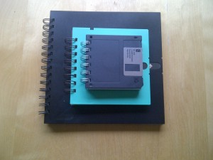 Floppy disk notebook family 1