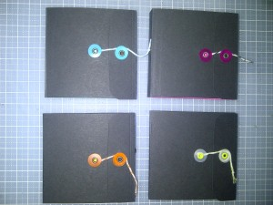 Post-It note holders 1
