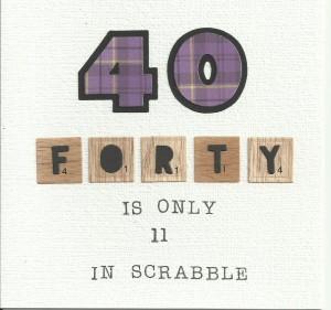 Scrabble 40