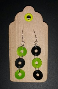 recycled plastic earrings 1